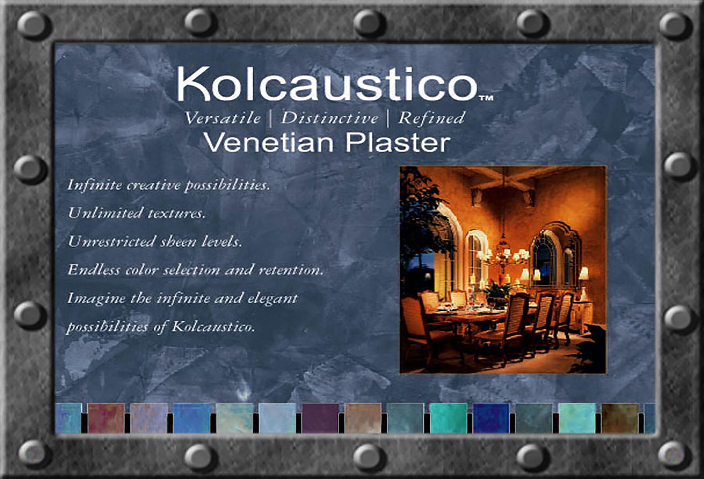 Kolcaustico Veneteian Plaster