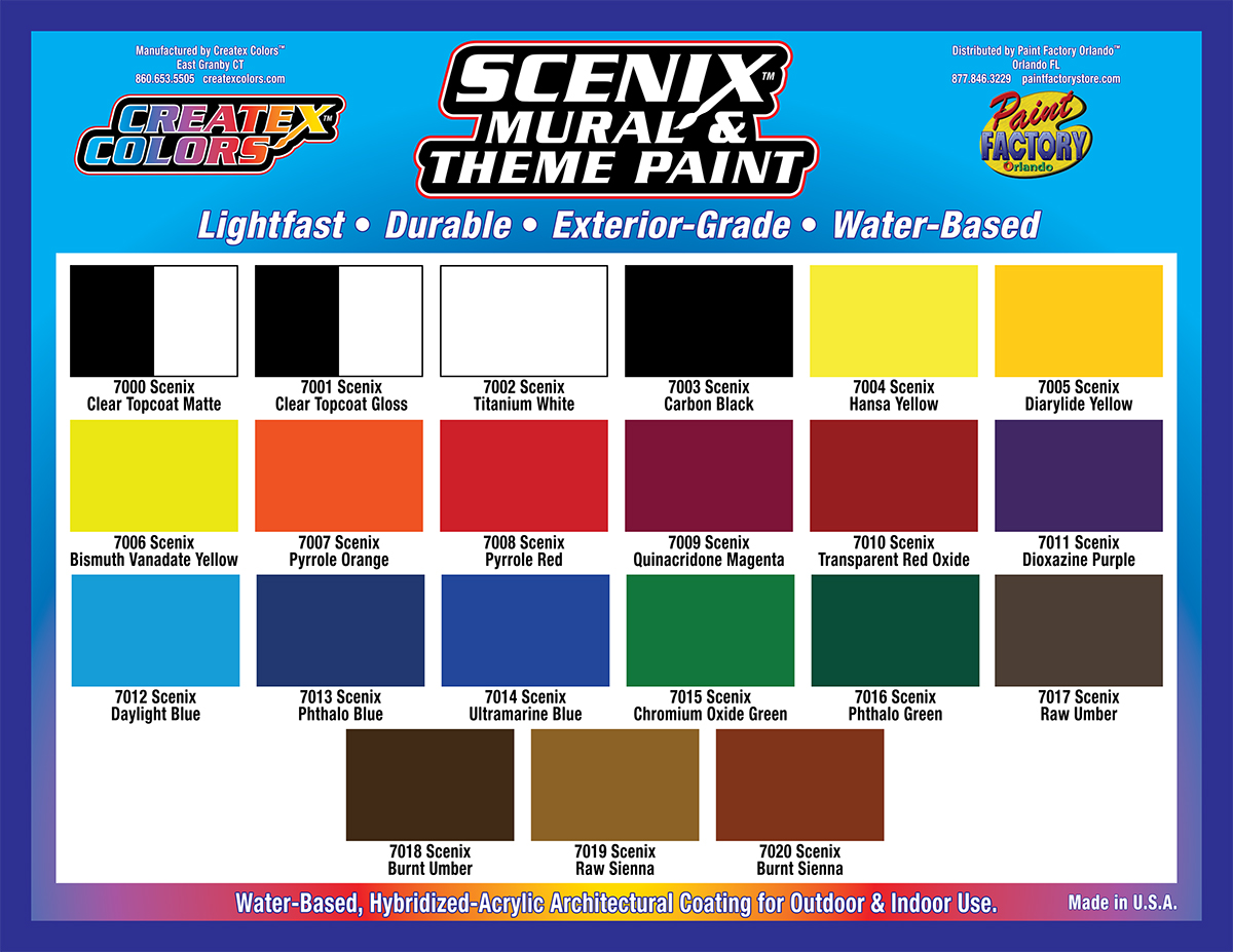 Paint Factory Orlando Supplier Of Scenic Decorative And Faux Finishing Products